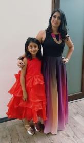 Hetal and her daughter