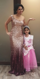 Divya and her daughter