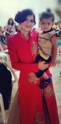 Priyanka and her son