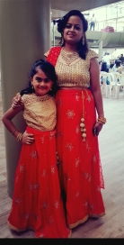 Soumya and her daughter
