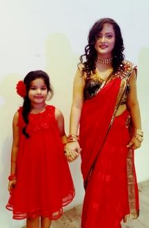 Shivangi and her daughter