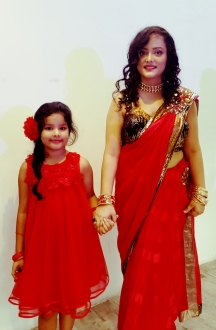 Shivangi and her daughter