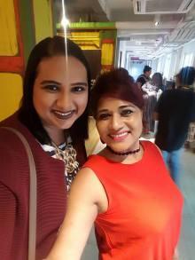 With Sunita