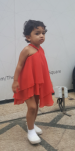 Priya's daughter Nayla - dress swap