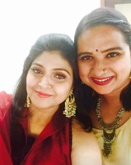with Mugdha