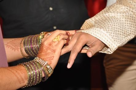 Ring exchange (rose gold rings)