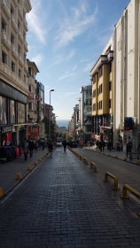 The streets of Istanbul