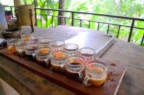 15 varieties of tea and coffee